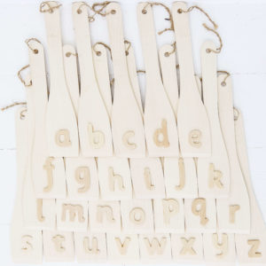 Alphabet wands - Coverdale Educational Resources ltd
